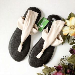 NWT Sanuk Yoga Sling 2 Metallic Sandal (10)